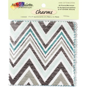 Melodic Floral Charm Pack 5inX5in 20/PkgMulti