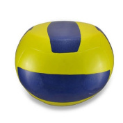 Yellow and Blue Volleyball Stool Child`s Sport Chair