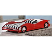 Twin Car Bed in Red