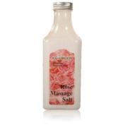 Royal Massage Natural Sea Salt Mineral Massage Scrubbing Salts 310ml Bottle - Rose