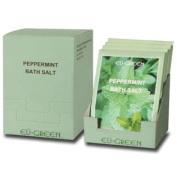 Royal Massage Natural Sea Salt Mineral Bath Salts (80g packets x 10) - Peppermint