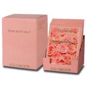 Royal Massage Natural Sea Salt Mineral Bath Salts (80g packets x 10) - Rose