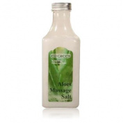 Royal Massage Natural Sea Salt Mineral Massage Scrubbing Salts 310ml Bottle - Aloe