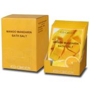Royal Massage Natural Sea Salt Mineral Bath Salts (80g packets x 10) - Mango Mandarin
