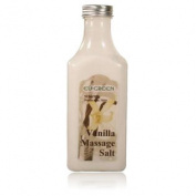 Royal Massage Natural Sea Salt Mineral Massage Scrubbing Salts 310ml Bottle - Vanilla