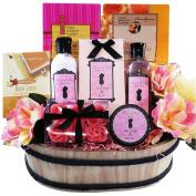 Sweet . Peony Spa Bath and Body Gift Basket