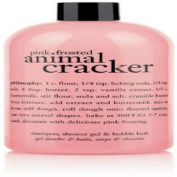 Philosophy Pink Frosted Animal Cracker (Shampoo, Shower Gel and Bubble Bath)470ml