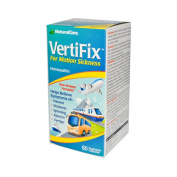 Natural Care Vertifix for Motion Sickness - 60 Vegetarian Capsules, [Health & Beauty, Homoeopathic Remedies]