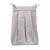 Trend Lab Circles Grey Nappy Stacker