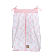 Trend Lab Pink Sky Nappy Stacker