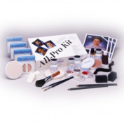 Mehron All Pro Theatrical Makeup Kits - Dark Complexion (StarBlend) K110-B