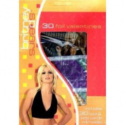 Britney Spears 30 Foil Valentines