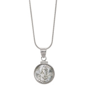 American Coin Treasures Silver Philippines 10 Centavos Sterling Silver Pendant Coin Jewellery