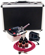 Paasche Airbrush Makeup Airbrush and Compressor Kit with Case, 900ml