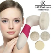 RC Battery Powered 8 Adjustable Speeds 4 in 1 Facial Brush Kit Skin Care Cleansing System and Acne Treatment Microdermabrasion B