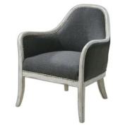 Uttermost 23181 Dayla Indigo Accent Chair
