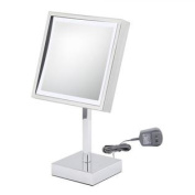 Kimball & Young Single-Sided Square LED Vanity Mirror Chrome