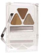 "Eye Brow Shaper Kit ""Light"" - Pressed Powder & Tinted Wax + Takelon Brush"