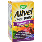 Alive! Once Daily Women's Ultra Potency - Nature's Way - UK Seller