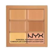 NYX Conceal, Correct, Contour Palette - Medium