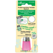 Clover Protect and Grip Medium Thimble