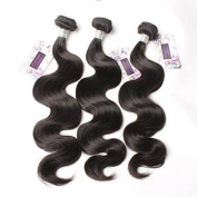 Bella Hair 100% Real Brazilian Body Wave Bundles Hair Extensions Human Virgin Hair Weave 3 Bundles Natural Colour 20cm - 80cm