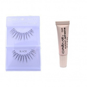 12 Pairs Creme 100% Human Hair Natural False Eyelash Extensions Black #83 Long Thin Natural Lashes by Creme Eyelash