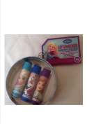 Frozen Girls and Womens Lip Smacker Lipbalm - in a re-useable tin for Little Treaures