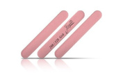 Mini Pink Salon Cushion Board Nail Files 280/320 (12 Pack) 8.9cm Long By 1.3cm Wide By Jaylie by Jaylie