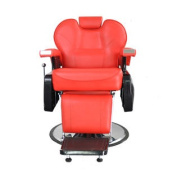 All Purpose Hydraulic Recline Barber Chair Salon Beauty Spa Shampoo Red