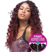 [4 Wefts Complete Set] Sensationnel Too XL Mixx - CARIBBEAN WAVE - Human Hair Blend Weave (One Pack Complete)