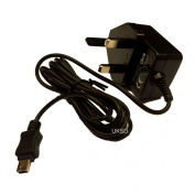 Premium Mains Charger for Transcend DrivePro DP100 / DP200 / DP220 / DP520 Car Video Recorder exclusive to uksalesdirect