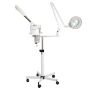 Professional Multi-functions 2in1 Spa Ozone Facial Steamer & Magnifying Lamp Magnifier Salon Beauty Shop