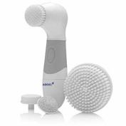 Facial Brush Skin Care Cleansing System & Acne Treatment Microdermabrasion Bath Body Exfoliate Machine Kit, Scrub Anti A