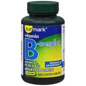 Sunmark Vitamin B-Complex Tablets - 100 ct