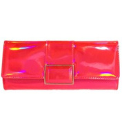 Holoday Pink Holographic Clutch Writstlet