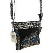 Laurel Burch `Polka Dot Gatos` Cross Body Bag