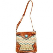 Western Handbag Women Messenger Heart Multi Colour N7546808