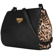 Arina Young Ladies Leopard Crossbody Purse Bag /w Shoulder Strap fits all Blu Studio Model Phones