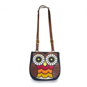 Loungefly Denim Owl Messenger CrossBody Bag
