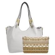 Kourtney Woman's Satchel Bag with Purse Organiser