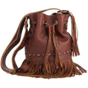 Western Handbag Women Leather Free Spirit Brown STS30607
