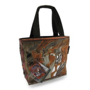 Laurel Burch Horses Moroccan Mares Mini Tote Bag Purse