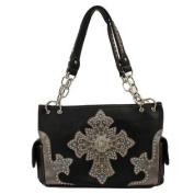 Western Handbag Womens Satchel Cross Black N7553401