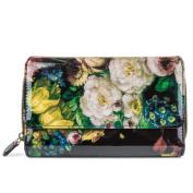 Women's Big Fat Wallet - Floral