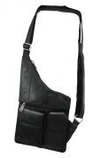 Black Sheep Leather Cross-Body Travel Bag