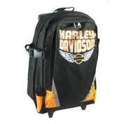 Harley-Davidson Nylon Rolling Backpack Book Bag