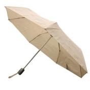 Totes Auto Open Auto Close Umbrella (Khaki w/ Grey Handle) 8905MKHAKI
