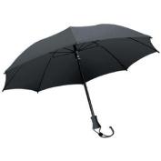 EuroSchirm Stick Trekking Umbrella with Shoulder Case - Black
