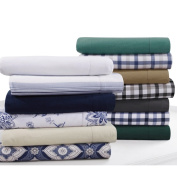 Flannel 200-GSM Solid or Printed Pillowcases